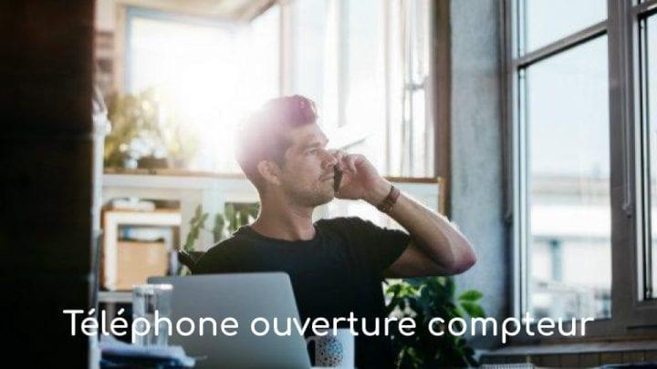 telephone ouverture compteur edf