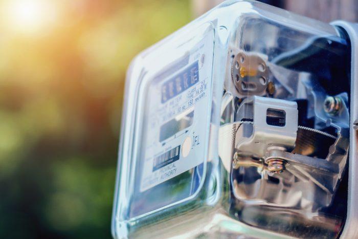 Ouverture compteur électrique