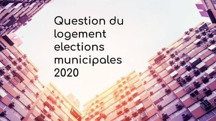 Question du logement elections municipales 2020