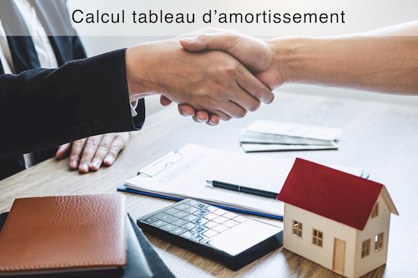 Calcul Tableau D Amortissement Simulation De Pret Immobilier
