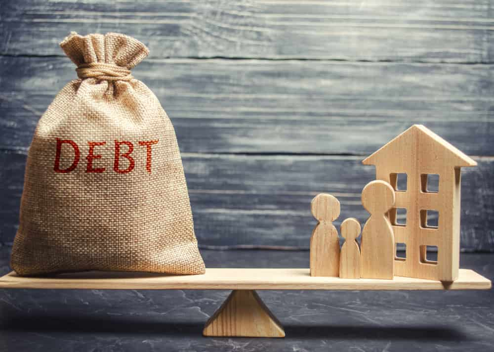 taux d'endettement