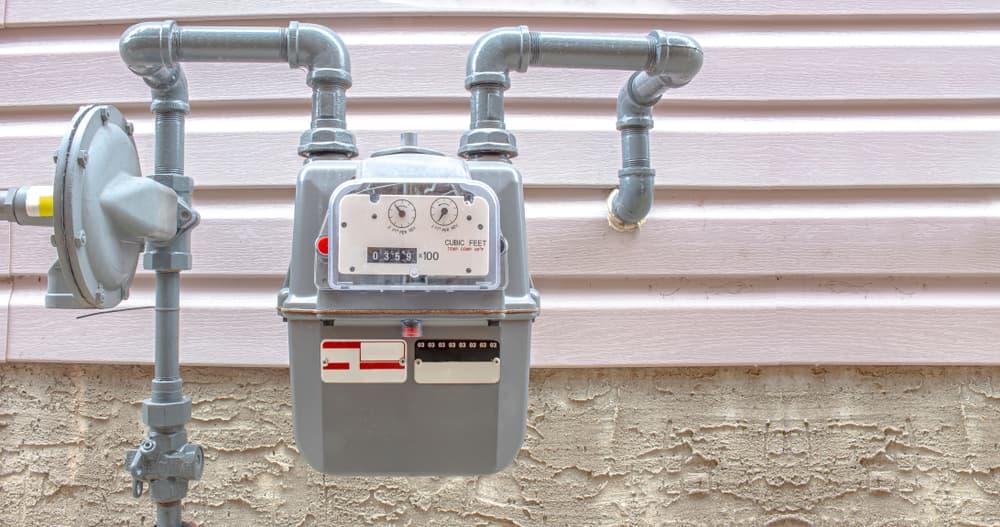 sostituzione del contatore del gas