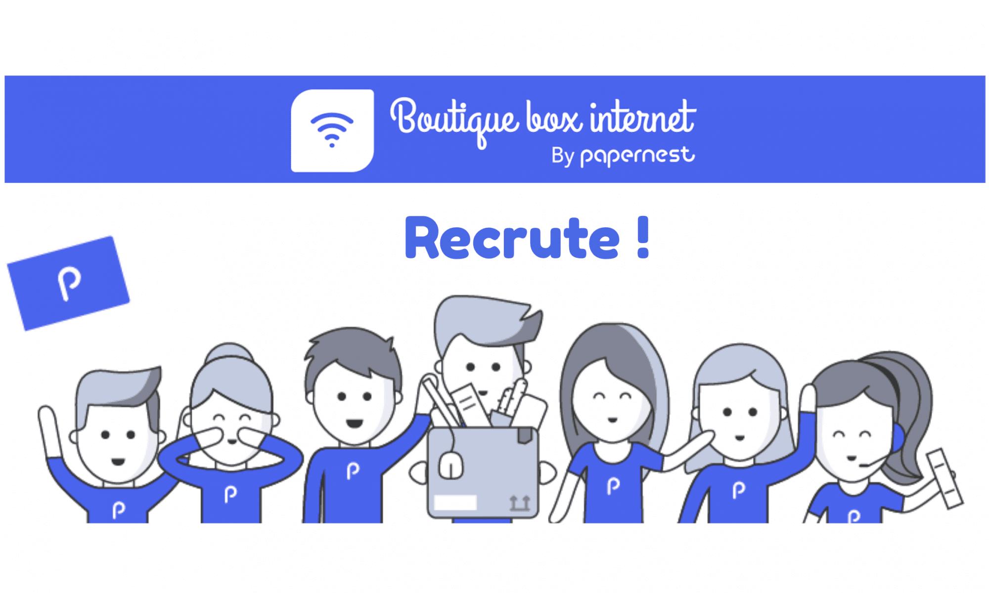 Recrutement boutique-box-internet.fr