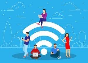 WiFi sans box hotspots