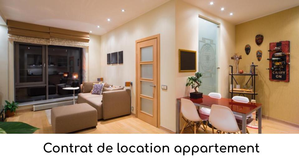 Contrat De Location Appartement Telechargez Un Modele En Pdf Ou Word
