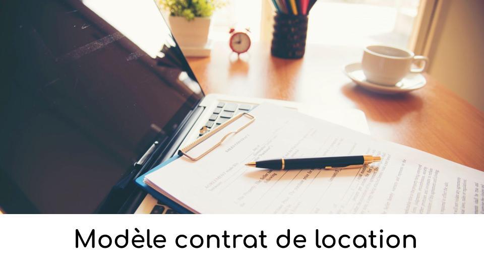 Modele Contrat De Location Telechargement Word Ou Pdf