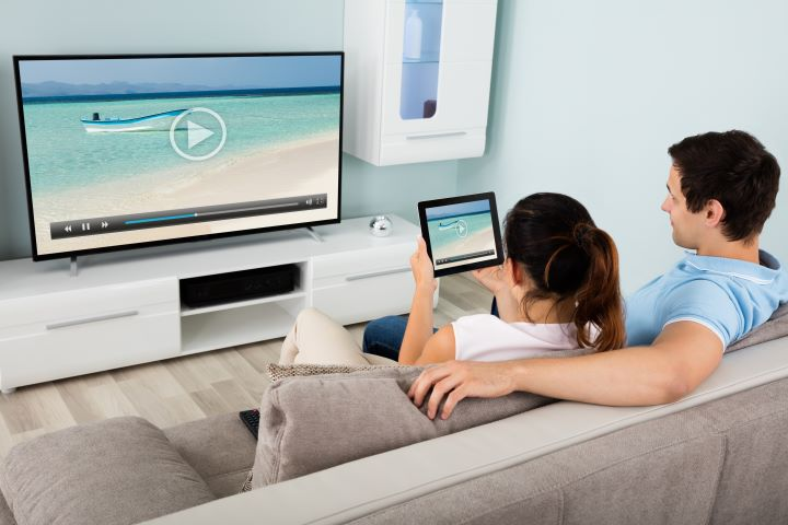 Energy usage of a TV