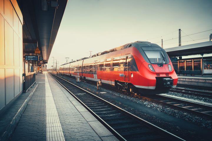 Take a train instead of a plane!