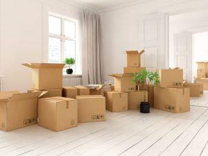 Trasloco: le scatole di cartone rappresentano una parte fondamentale dell'operazione di trasloco