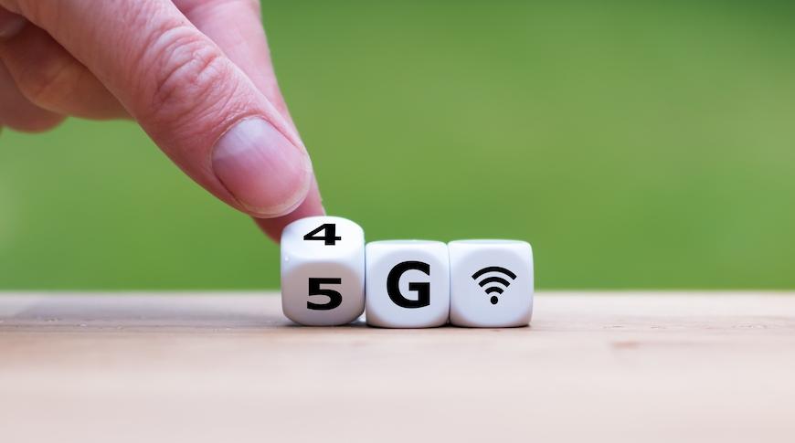 5G sim card deal - cubes that depict 5G