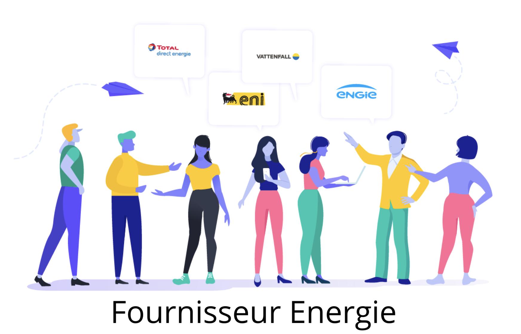 fournisseur énergie