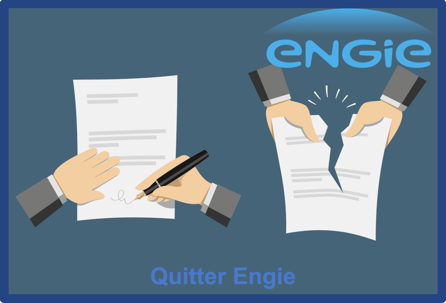 Quitter engie