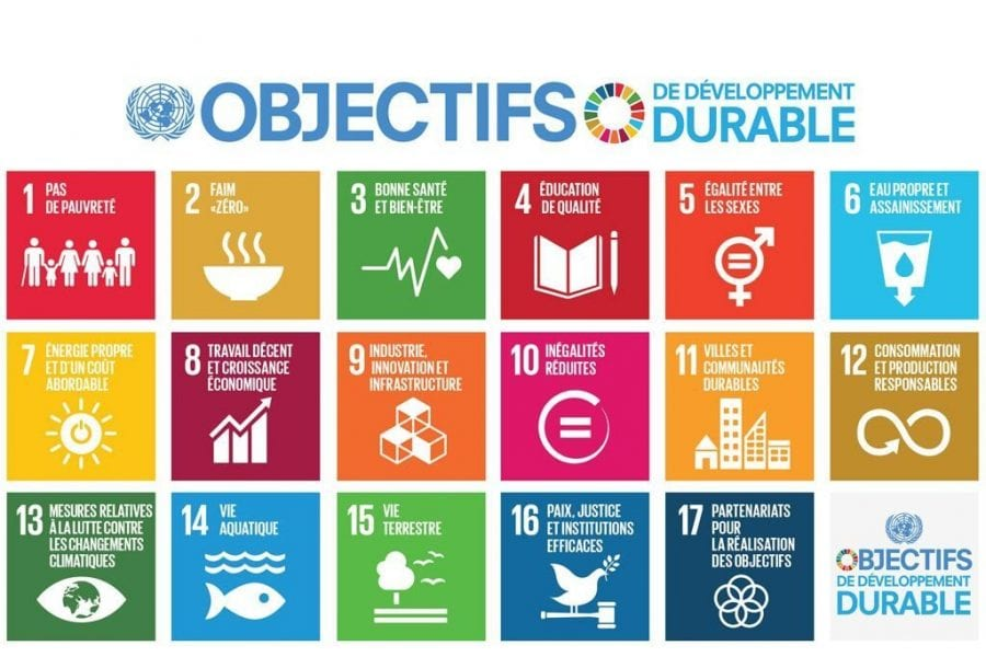 infographie objectif onu