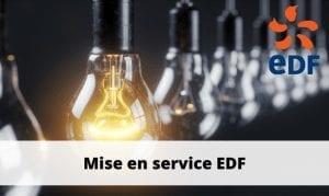 mise en service edf