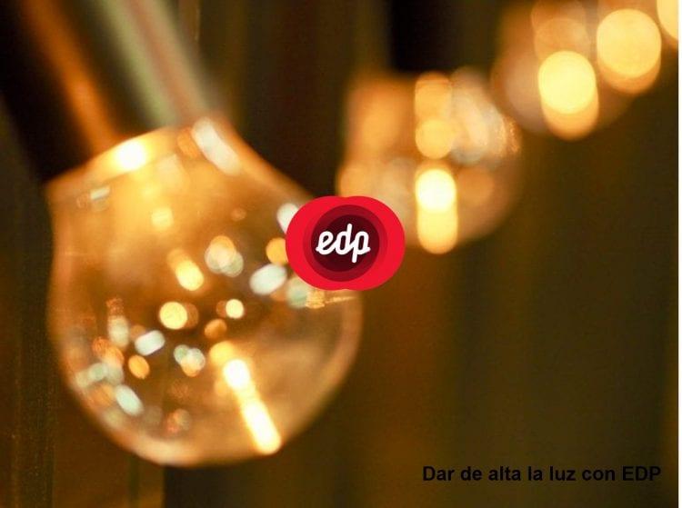 dar de alta la luz EDP