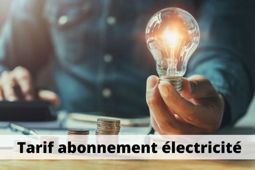 tarif abonnement electricite