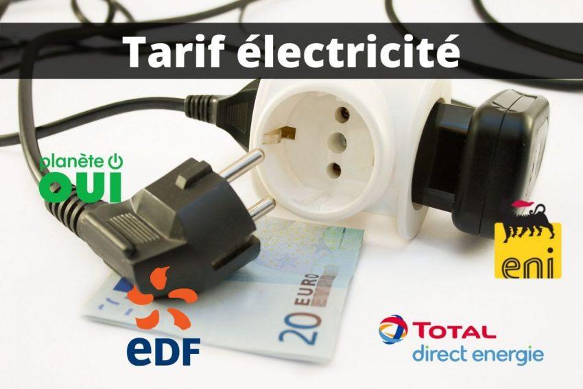 Tarif electricite